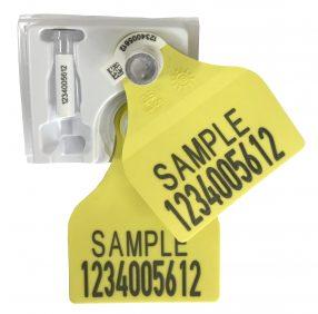 Foto: OS ID TST Stor gul sample