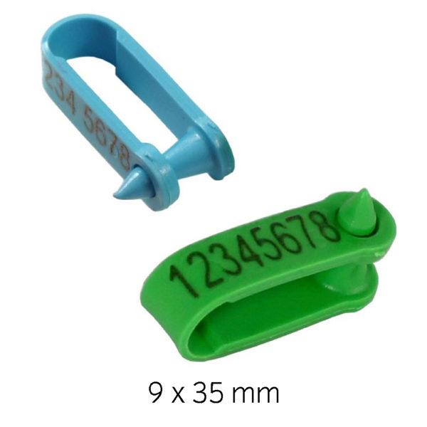 Produktfoto: Micro grønn og blå
