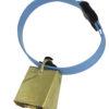 Product photo: Blue KVIKK collar for sheep, with bell